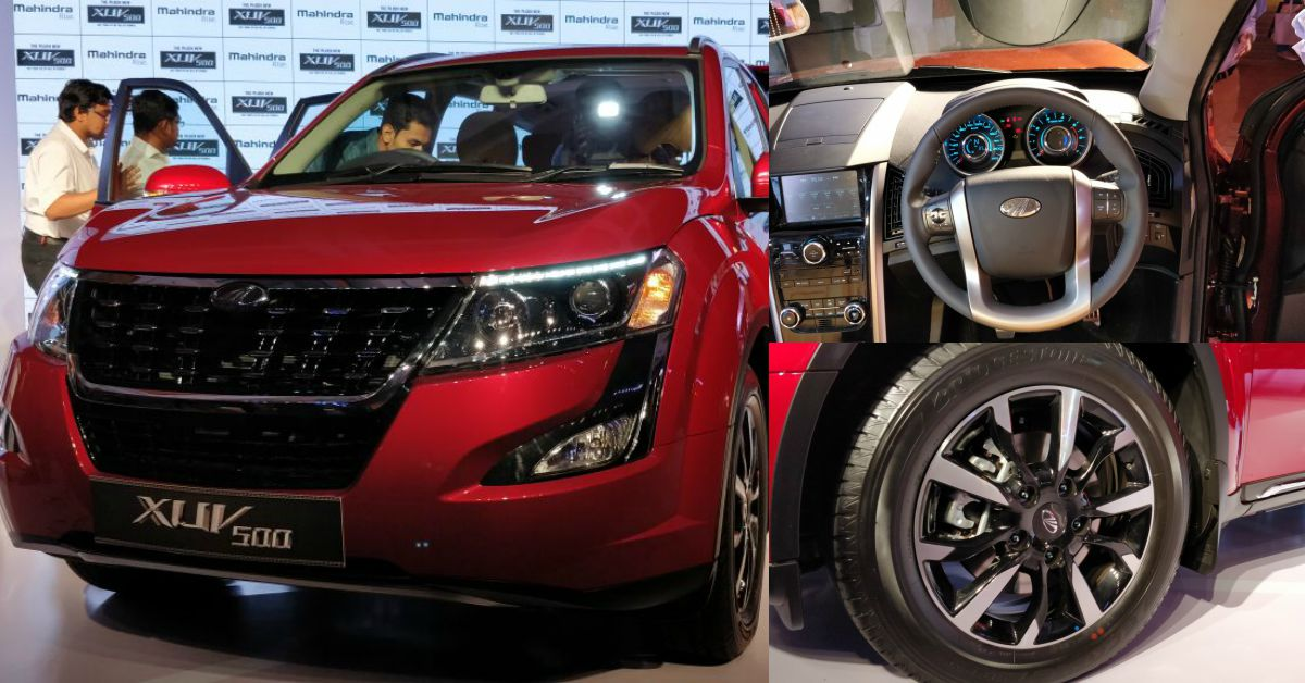Plush New Mahindra Xuv500 India Launch Details Official