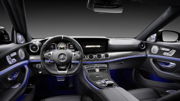 Mercedes AMG E63 S 4Matic+ interior