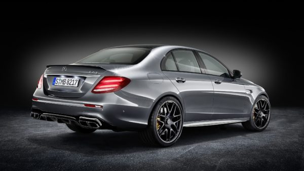 Mercedes AMG E63 S 4Matic+ rear