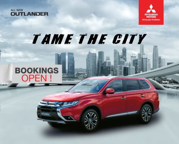 Mitsubishi Outlander India bookings open