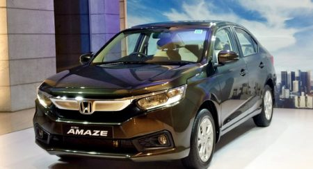 New 2018 Honda Amaze Launched In India