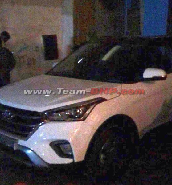New 2018 Hyundai Creta facelift spied undisguised