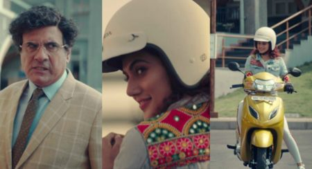 Boman Irani Gets A New Hair Style, Taapsee Pannu Finds New Love In The Honda Activa 5G TVC