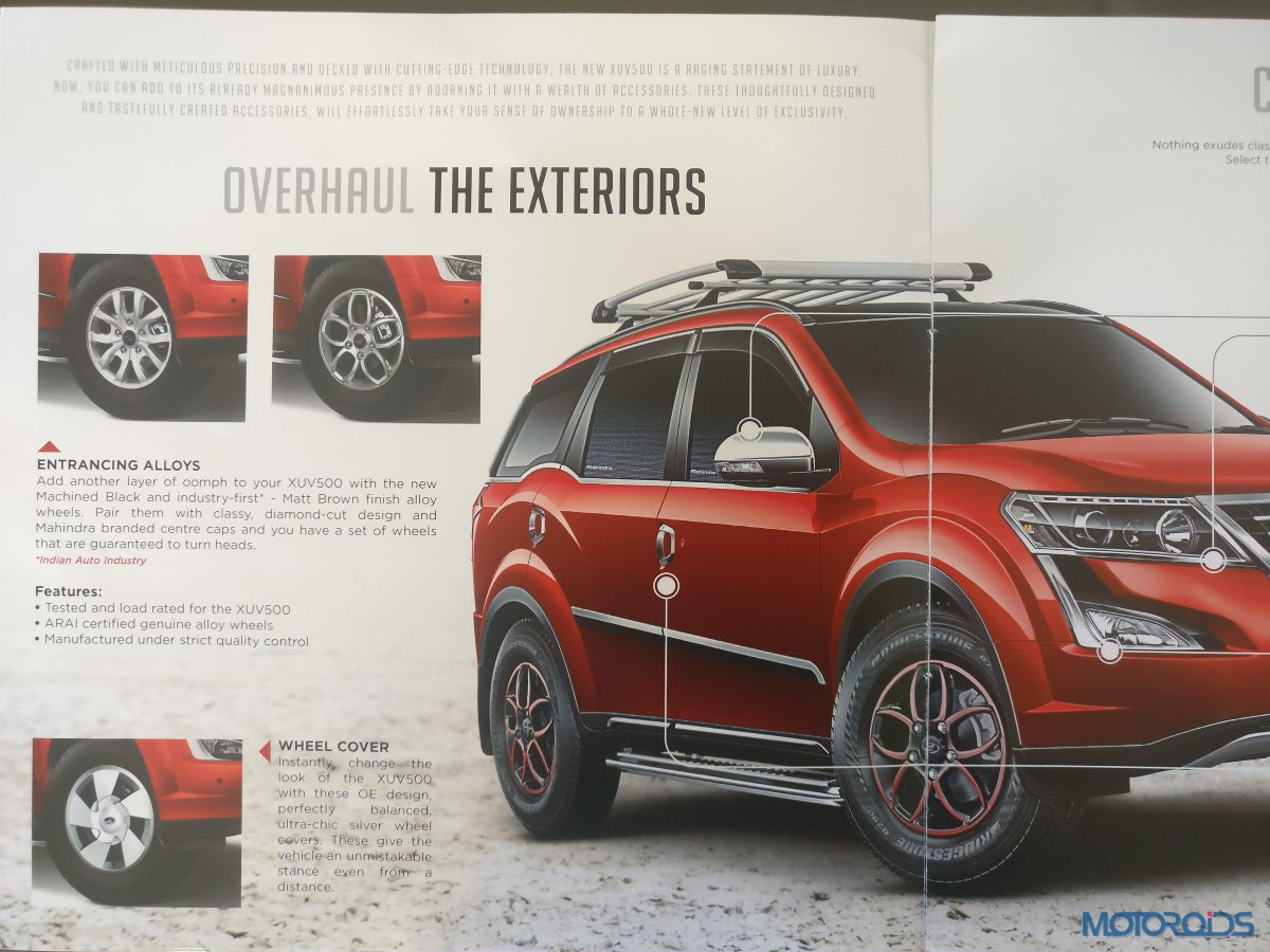 New Mahindra XUV500 Accessories (3)