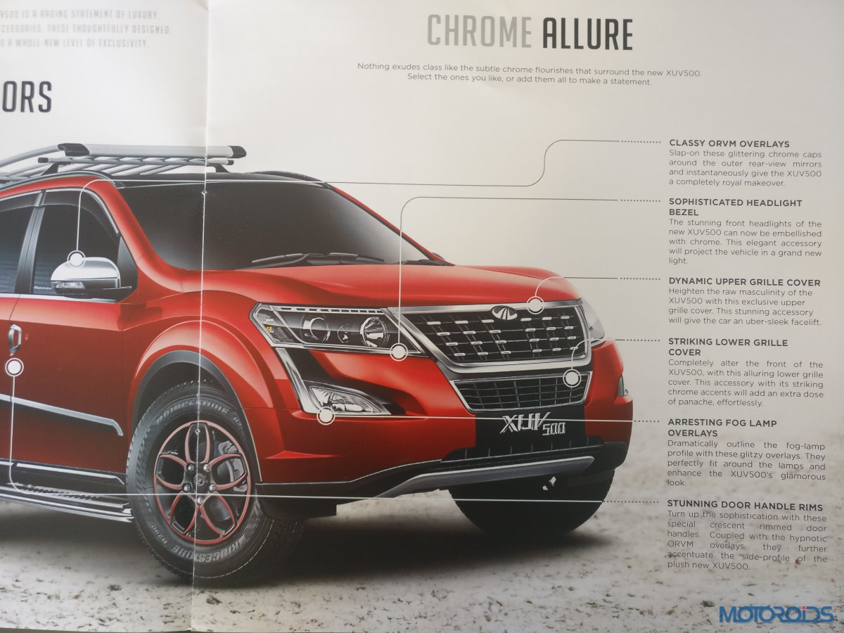 New Mahindra XUV500 Accessories (4)