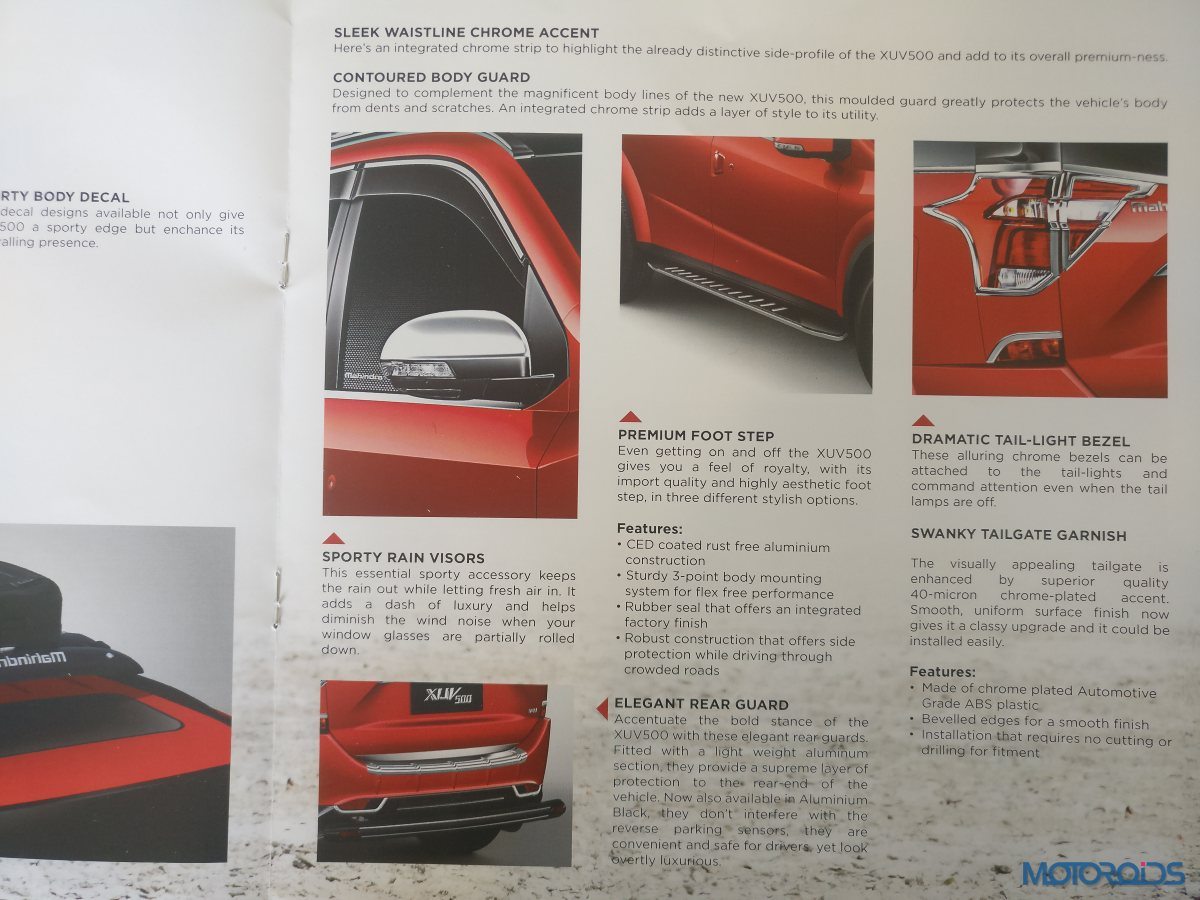 New Mahindra XUV500 Accessories (6)