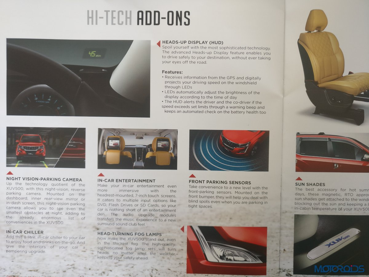New Mahindra XUV500 Accessories (7)