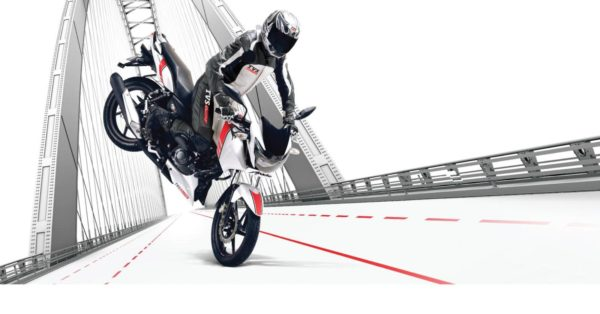 New TVS Apache RTR 160 White Race Edition (1)