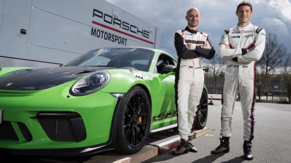 Porsche 911 GT3 RS Nurburgring record
