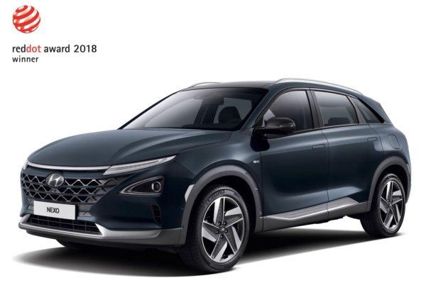 Red Dot Design Award_Hyundai NEXO