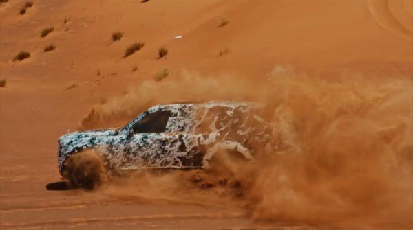 Rolls Royce Cullinan Dune Bashing Dubai