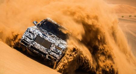 Rolls-Royce Cullinan Goes Dune Bashing Dubai