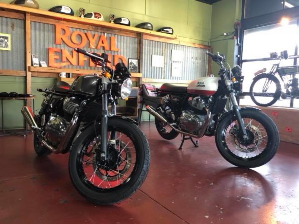 Royal Enfield 650 Duo – Sydney