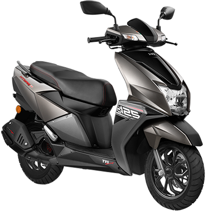 TVS Ntorq 125 Metallic Grey