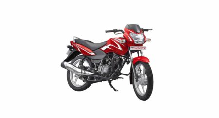 TVS Sport Silver Alloy Edition - Volcano Red