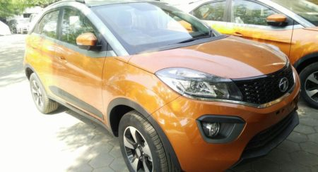 Tata Nexon AMT Begins Arriving At Dealerships Ahead Of Impending Launch