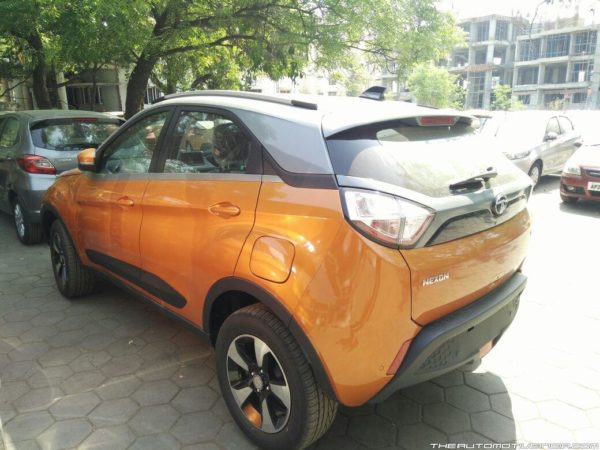 Tata Nexon AMT arrives at dealerships (4)