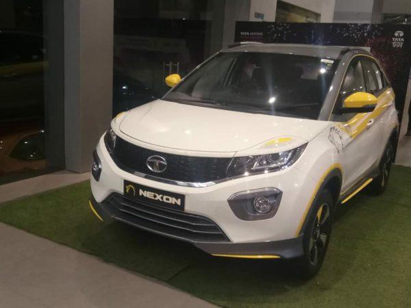 Tata Nexon CSK edition