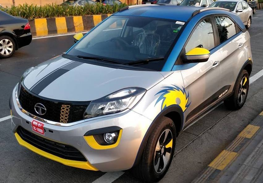 Tata Nexon Ipl Edition Pays Tribute To Mumbai Indians