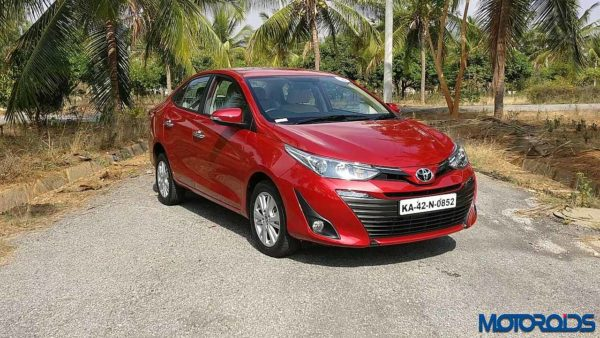 Toyota Yaris India front red (1)