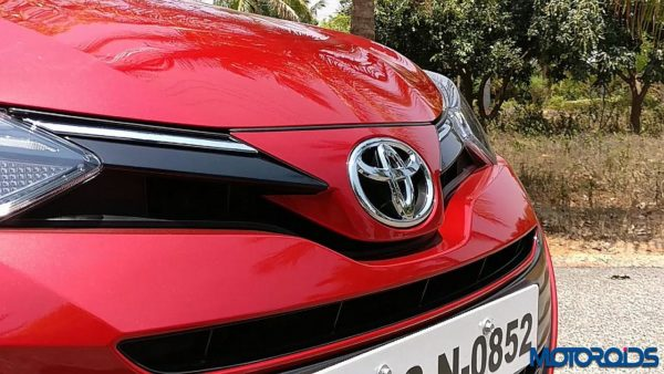 Toyota Yaris India radiator grille