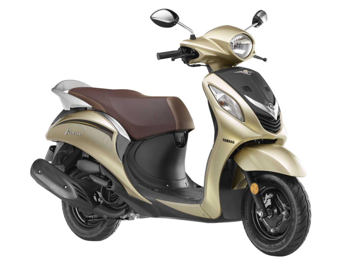 Yamaha Fascino – New Colour Options (2)