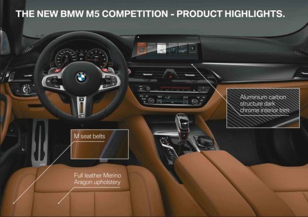 2018 BMW M5 Competition (5)