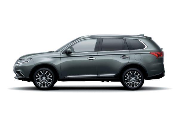 2018 Mitsubishi Outlander – Titanium Gray