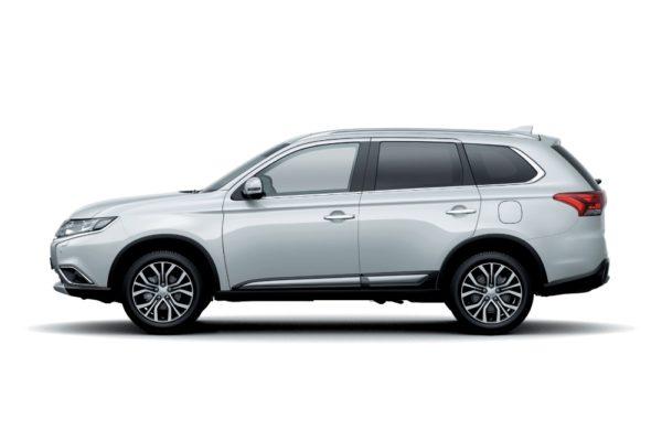 2018 Mitsubishi Outlander – White Solid