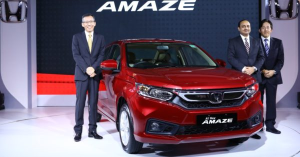 All New Honda Amaze India Launch – Feature Image