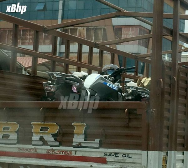 BMW G310 GS spotted in India