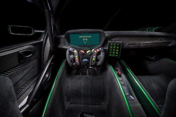 Brabham BT62 Driver View