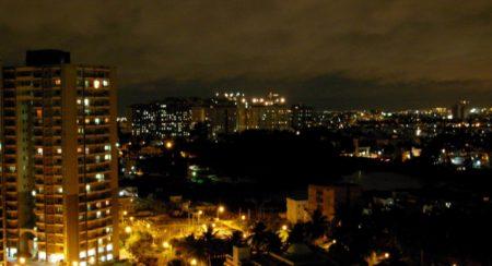 Bangalore - Night Photograph - Wiki