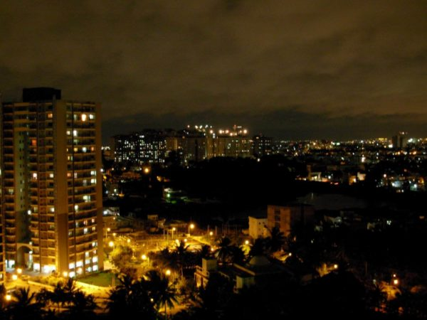Bangalore – Night Photograph – Wiki