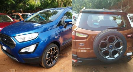 Ford EcoSport Signature and EcoSport Titanium S Start Arriving At Dealerships