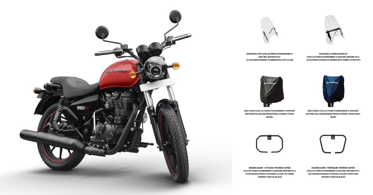 Check Out These Royal Enfield Thunderbird X Genuine Motorcycle