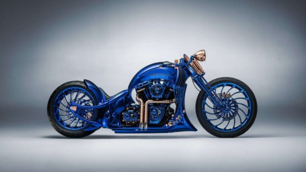 Harley Davidson Blue Edition (1)