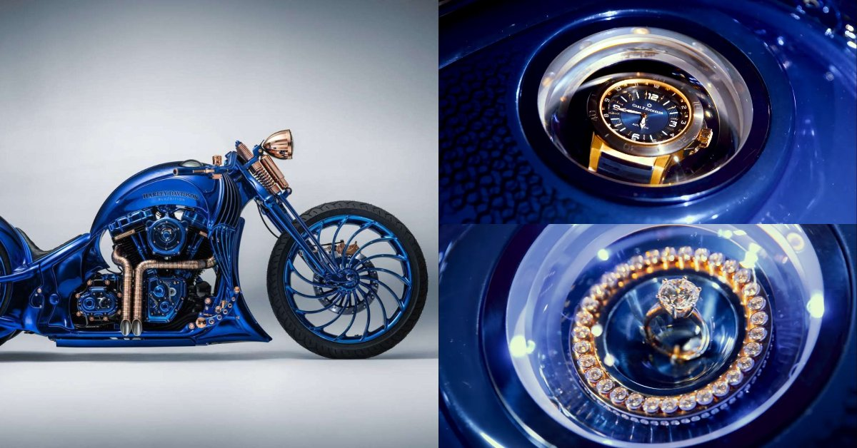 harley davidson bucherer blue edition precio
