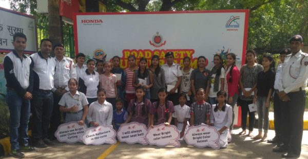 Honda 2Wheelers Commences National Road Safety Summer Camp For Children (2)