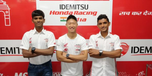 Honda 2Wheelers India's first ever international team all set for ARRC Round 3 in Japan