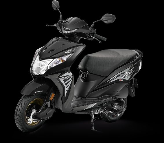 Honda Dio Deluxe Igneous Black