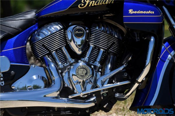 Indian Roadmaster Elite – Engine