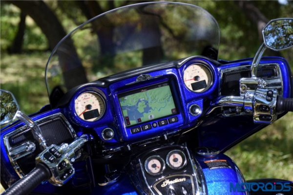 Indian Roadmaster Elite – Speedometer