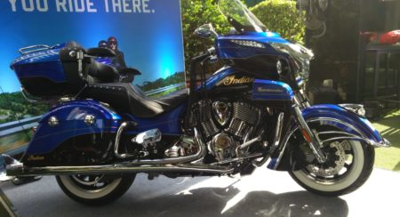 VIDEO: Limited Edition Indian Roadmaster Elite With 23K Gold Leaf Badging Lands In India