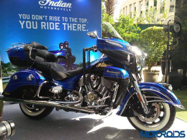 Indian Roadmaster Elite launched in India