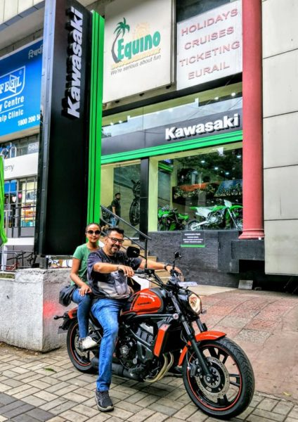 India's first Orange Kawasaki Vulcan S delivered