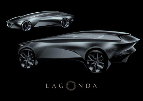 Lagonda SUV Official Image