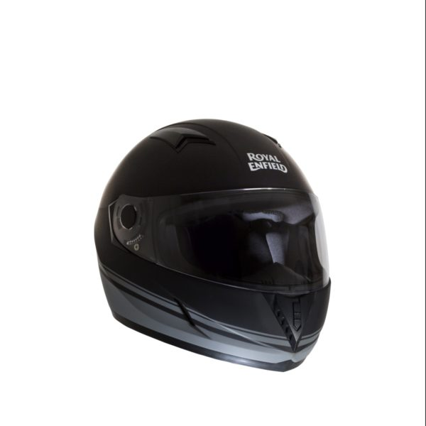 Latest Royal Enfield Helmet Collection – Street Pin Stripe Matt Black
