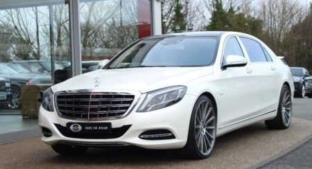 Lewis Hamilton's Mercedes-Benz S-Class Maybach Is Up For Sale (1)