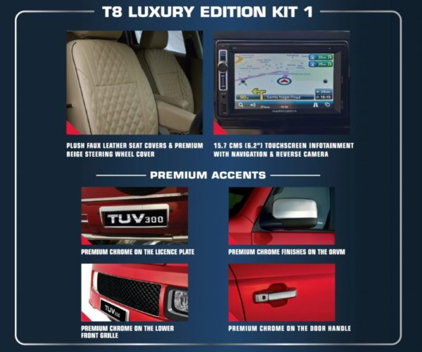 Mahindra TUV300 Luxury Edition Kit 1